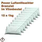10 x 1 kg Luftentfeuchter Granulat im Vliesbeutel...