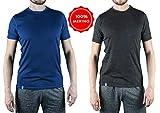 Alpin Loacker Premium Merino T-Shirt für Herren -...