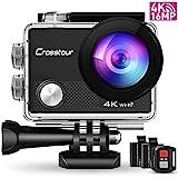 Crosstour CT9000 Action Cam Unterwasserkamera (4K...