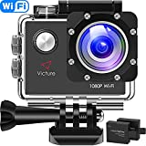 Victure Action Cam WI-Fi Full HD 1080P...