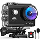 COOAU 4K Action Cam 20MP WiFi Sports Kamera...