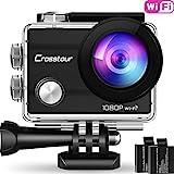 Action Kamera Wifi Cam 1080P Full HD Crosstour 2'...