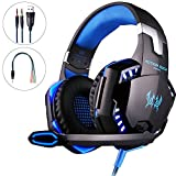 Gaming Headset PS4, Mbylxk Gaming Kopfhörer 3,5...