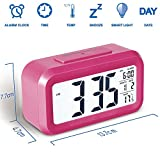 COLICO Smart LED Digital Wecker Snooze 5 Minuten,...
