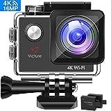 Victure Action Cam 4K Wifi Kamera Unterwasser...