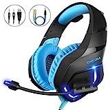 Gaming Headset PC, MillSO K1 Gaming Kopfhörer PS4...