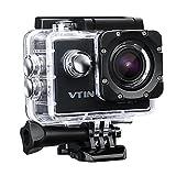 VTIN WIFI 2,0 Zoll wasserdichte Camera Helmkamera...