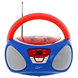 Sakar CR1-02393 Super Hero Girls Boom Box mit CD...