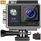 JEEMAK Action Cam 4K UHD 20MP Sport Kamera WiFi...