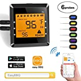 Co-existance Grillthermometer Bluetooth mit 6...