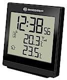 Bresser Funk-Thermometer Temeo SQ, schwarz