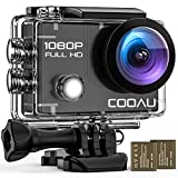 COOAU WiFi Action Sport Cam 1080P Full HD...