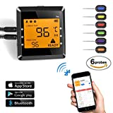 Wireless BBQ Thermometer, OUTAD Barbecue Funk...