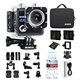 WiMiUS Action Cam 4K Action Kamera Wifi 20MP...