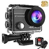 Crosstour Action Cam 4K 16MP WiFi Sports Kamera...