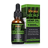 ProtoHemp Full Spectrum Hanföl, 10000mg 30ML,...