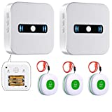 Daytech Wireless Mobiler Alarm Notruf Knopf...