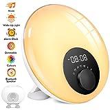 Lichtwecker mit Bluetooth Lautsprecher,...