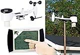 infactory Wetterstation USB: Wetterstation-Set mit...