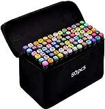 TongfuShop 80 Farbige Marker Set, Graffiti Pens,...