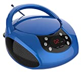 auvisio Kinderradio: Tragbarer Stereo-CD-Player...