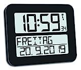 TFA Dostmann TimeLine Max Digitale Funkuhr,...