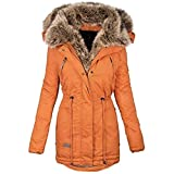 PPangUDing Wintermantel Jacke Damen Warme mit...