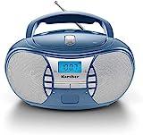 Karcher RR 5025-C tragbares CD Radio (CD-Player,...