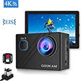GOOKAM Action Cam 4K 20MP WiFi Unterwasserkamera...
