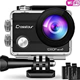 Crosstour Action Sport Cam WiFi 14MP Full HD...