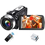 Videokamera 1080P 30FPS Camcorder Full HD IR...