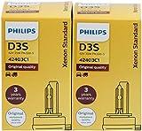 2 x Philips D3S 42403 Xen Start Standard Bulb...