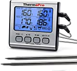 ThermoPro TP17 Digitales Grill-Thermometer...