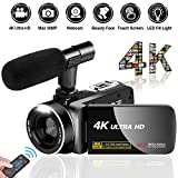 Videokamera Camcorder Ultra HD 4K 30MP Camcorder...
