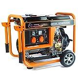 Stromerzeuger KW5500 1-Phasig 5000Watt Generator...
