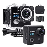 WiMiUS Action Cam 4K 20MP WiFi Ultra Full HD 30M...