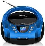 Tragbare Boombox | CD/CD-R | USB | FM Radio |...