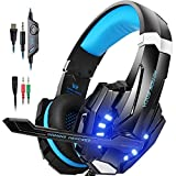 PUNICOK PS4 Gaming Headset, 3.5mm Surround Sound...