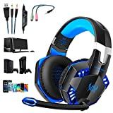 OCDAY Gaming Headset, Headset für PS4 PC Xbox...