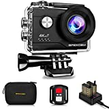 Apexcam 4K Action cam 20MP WiFi Sports Kamera...