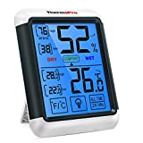 ThermoPro TP55 digitales Thermo-Hygrometer Innen...