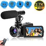 Camcorder Videokamera für YouTube, Vlogging...