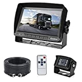 7' TFT LCD KFZ Monitor+18 IR LED Rckfahrkamera mit...