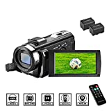 Camcorder Videokamera HD 1080P 24MP Video...