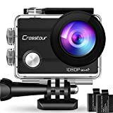 Crosstour Action Sport Cam Wifi 12MP Full HD...