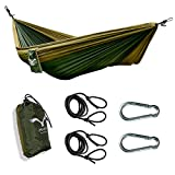 HAWK OUTDOORS Ultraleicht Hängematte Outdoor |...