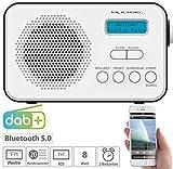 VR-Radio DAB Radio: Mobiles Akku-Digitalradio mit...