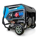 DeTec. DT-6500E-3 Benzin Generator | Stromerzeuger...