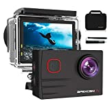 Apexcam Pro Action Cam 4K 20MP Sportkamera WiFi...