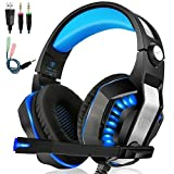IMMOSO Gaming Headset PC PS4 Headset Stereo Gaming...